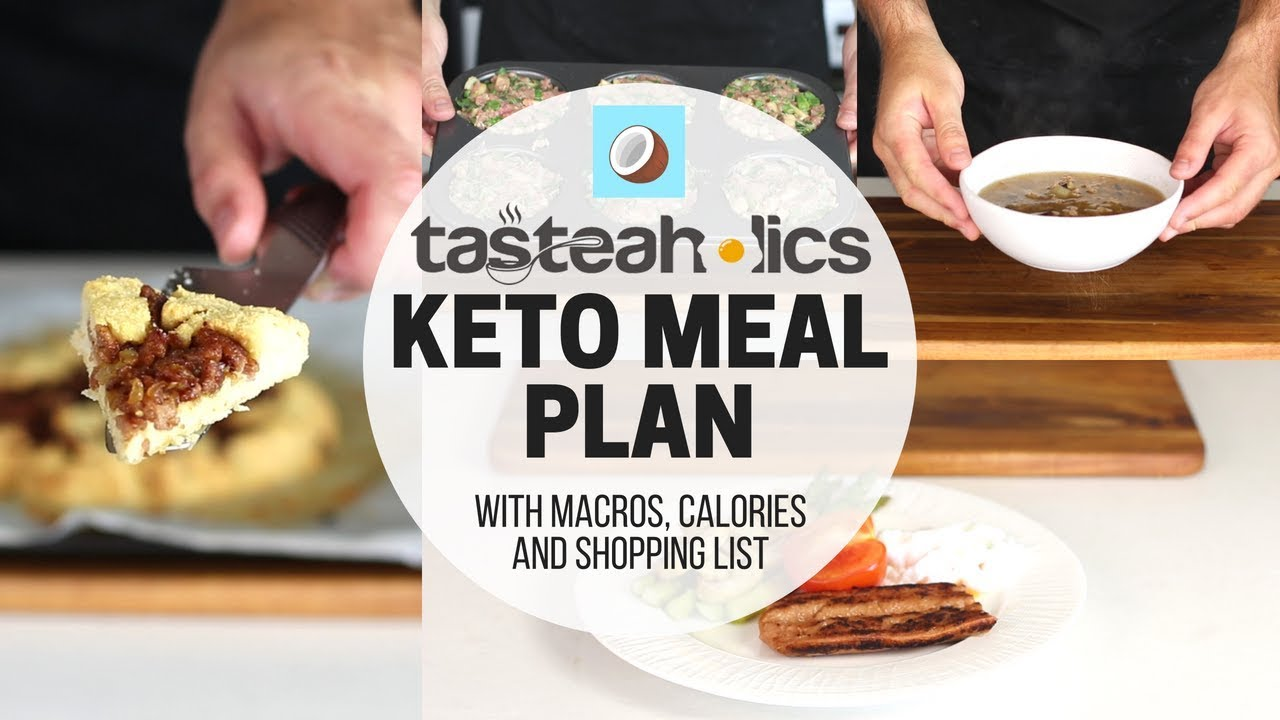 KETO WEIGHTLOSS Meal Plan – 7 DAY MEAL PLAN for Beginners